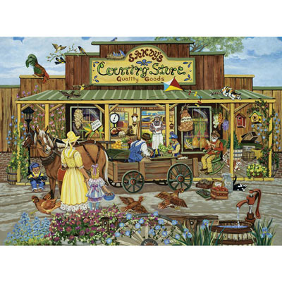 Sandy's Country Store 300 Large Piece Jigsaw Puzzle