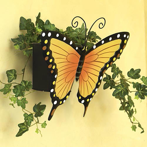 Butterfly Wall Planter