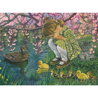 A Mother's Love 300 Large Piece Jigsaw Puzzle