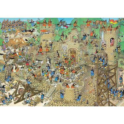 Castle Conflict 1000 Piece Jigsaw Puzzle