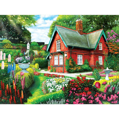 Summer Cottage 500 Piece Jigsaw Puzzle