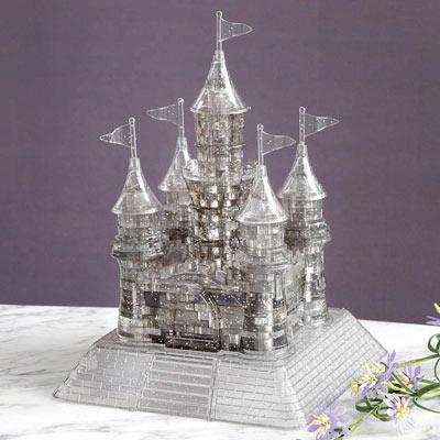 Crystal Castle 3D Puzzle