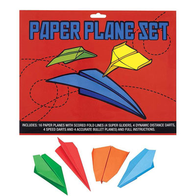 Build Your Own Paper Airplane