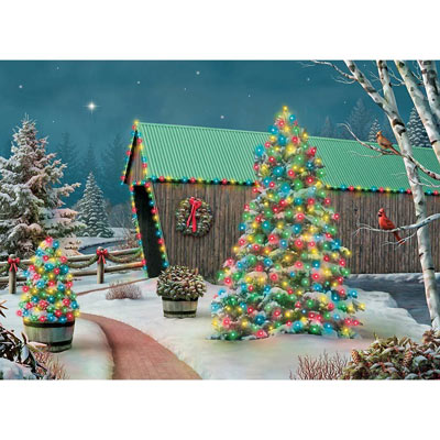 Country Lights 500 Piece Jigsaw Puzzle