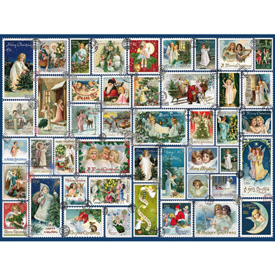 Angel Stamps 500 Piece Jigsaw Puzzle