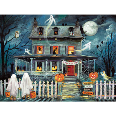 Enter If You Dare 1500 Piece Jigsaw Puzzle