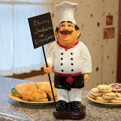 French Chef Menu Board
