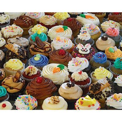 Cupcake Extravaganza 500  Piece Jigsaw Puzzle