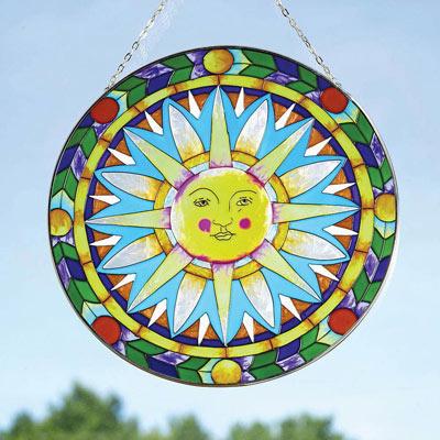 Decorative Glass Sun Catcher