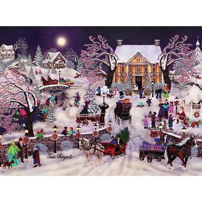 Christmas At The Inn 500 Piece Jigsaw Puzzle