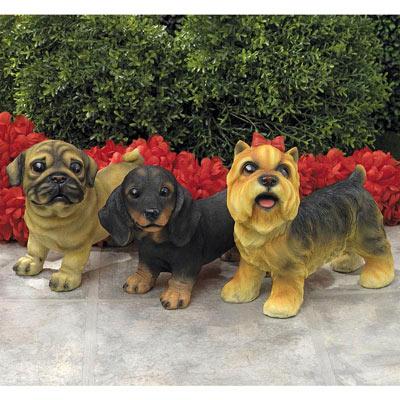 Dachshund-Adorable Puppy Statue
