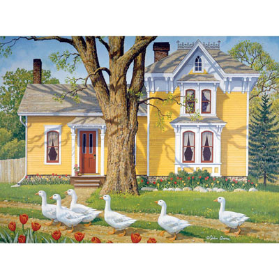 Easter Parade 500 Piece Jigsaw Puzzle