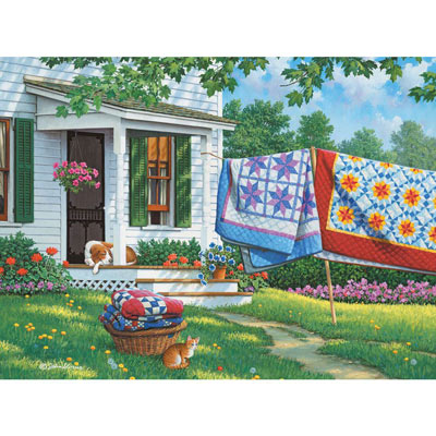 Calico Country 1000 Piece Jigsaw Puzzle