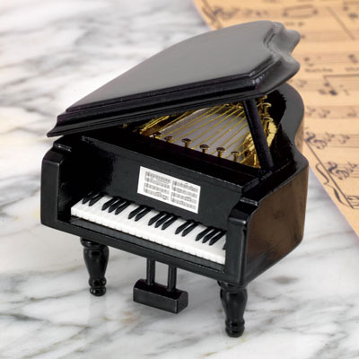 Grand Piano Music Box - Love Story