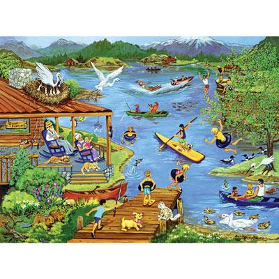 Lake Vacation 1000 Piece Jigsaw Puzzle