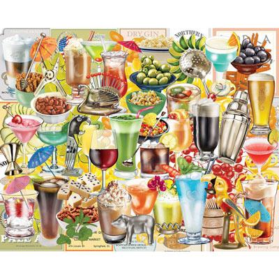 Happy Hour 500 Piece Jigsaw Puzzle