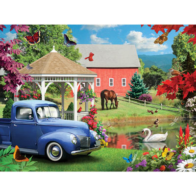 A Simple Time 300 Large Piece Jigsaw Puzzle