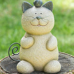 Whiskers the Cat Statue