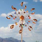 Solar-Powered Wind Spinner
