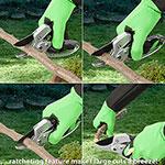 Ratchet Pruning Shears