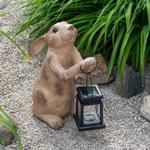 Rabbit with Solar Lantern