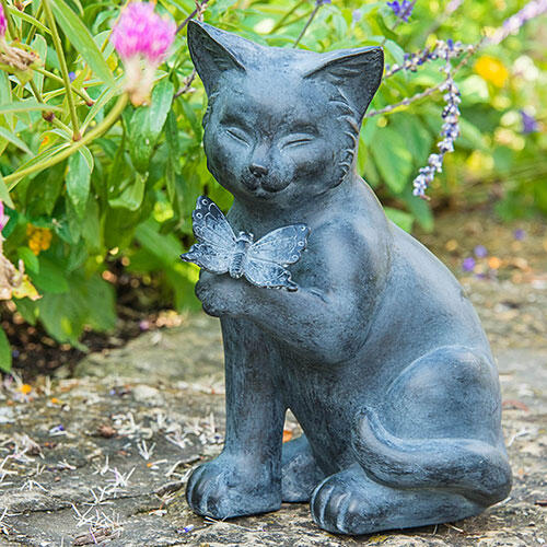 Best of Friends Cat Statuary