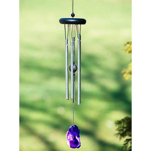 Purple Agate Wind Chime