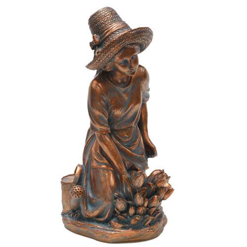 Gardening Woman Statue
