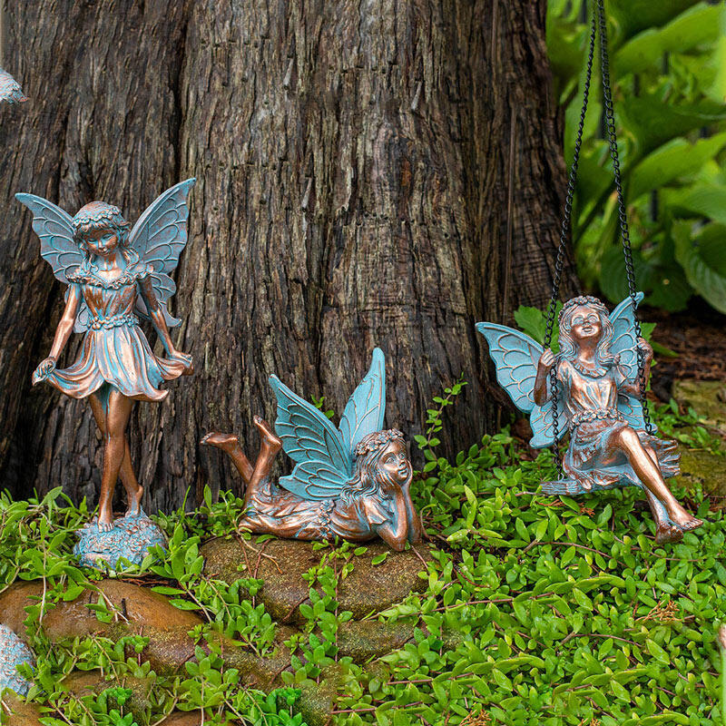 Fairy Statues Nature Inspired, Fairy Garden Statues Canada