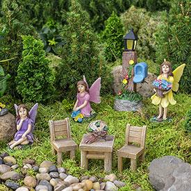 Fairy Garden - Set of 8