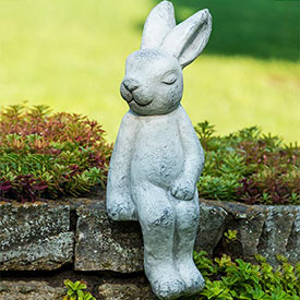 Sitting Rory Rabbit Statue