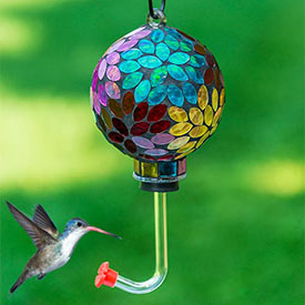 Prismatic Petal Hummingbird Feeder