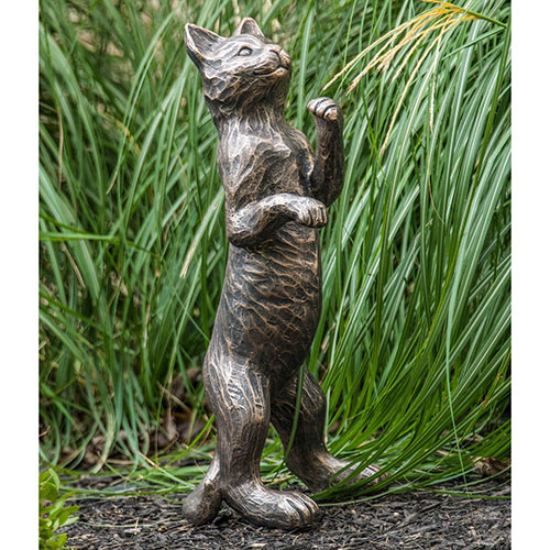 Standing Cat Statue