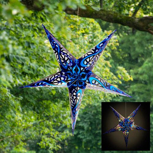Solar Hanging Star
