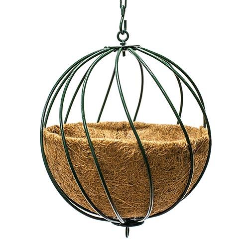 "12"" Hanging Sphere Planter"