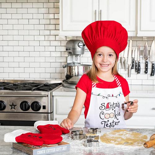 Santas Cookie Tester Apron Set