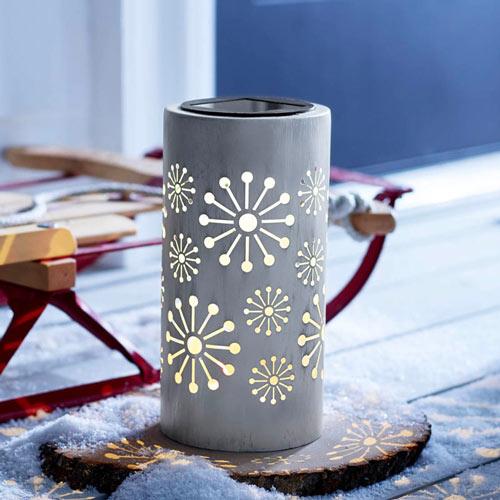 Solar Snowflake Lantern