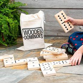 Jumbo Wooden Dominos