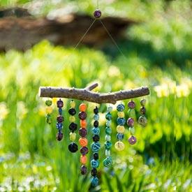 Hanging Bead Sculpture
