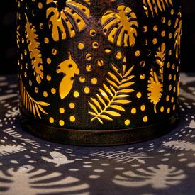 Tropical Leaves Solar Lantern