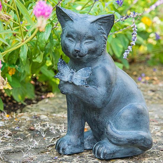 Best of Friends Cat Statuary