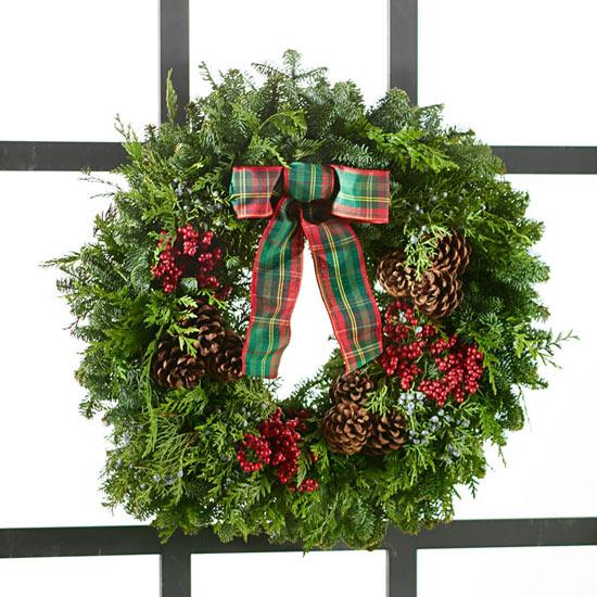 Fresh Noble Fir Wreath