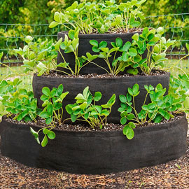 Grow Tub® Tiered Strawberry Planter