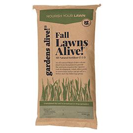 Fall Lawns Alive!<sup>®</sup> Lawn Fertilizer