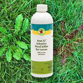 Iron X!<sup>™</sup> Selective Weed Killer for Lawns
