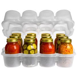 Preserve Jar Storage Bin