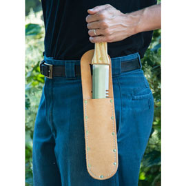 Leather Sheath for Preferred Hori Hori Knife