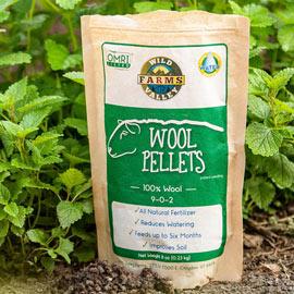 All-Natural Wool Fertilizer Pellets