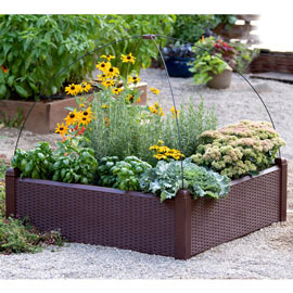 Simple Solution Raised Garden Bed