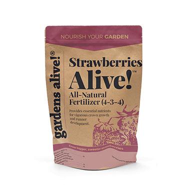 Strawberries Alive!<sup>™</sup> Strawberry Fertilizer